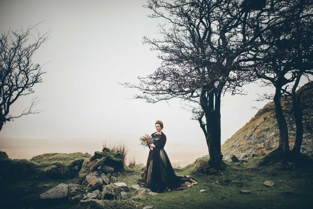 Dartmoor Wedding Wuthering Heights Shoot 9