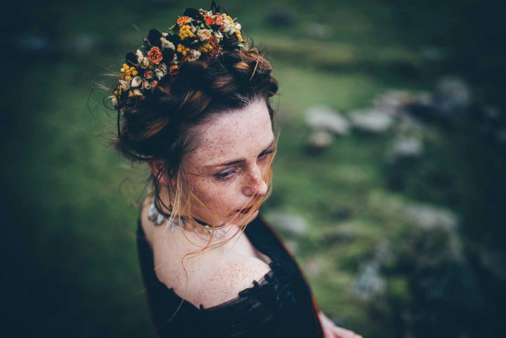 Dartmoor Wedding Wuthering Heights Shoot