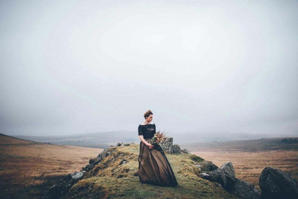 Dartmoor Wedding Wuthering Heights Shoot 6