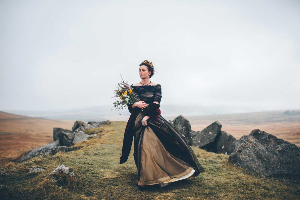 Dartmoor Wedding Wuthering Heights Shoot 5