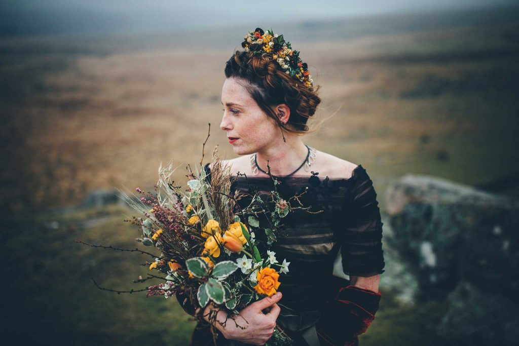 Dartmoor Wedding Wuthering Heights Shoot 4