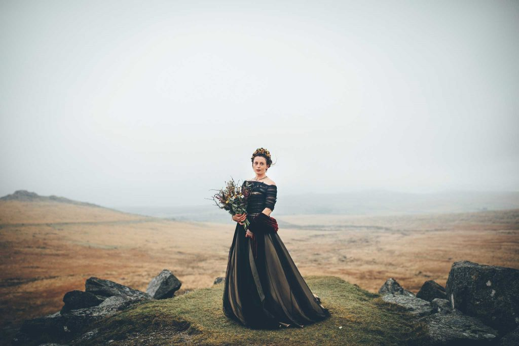 Dartmoor Wedding Wuthering Heights Shoot 2