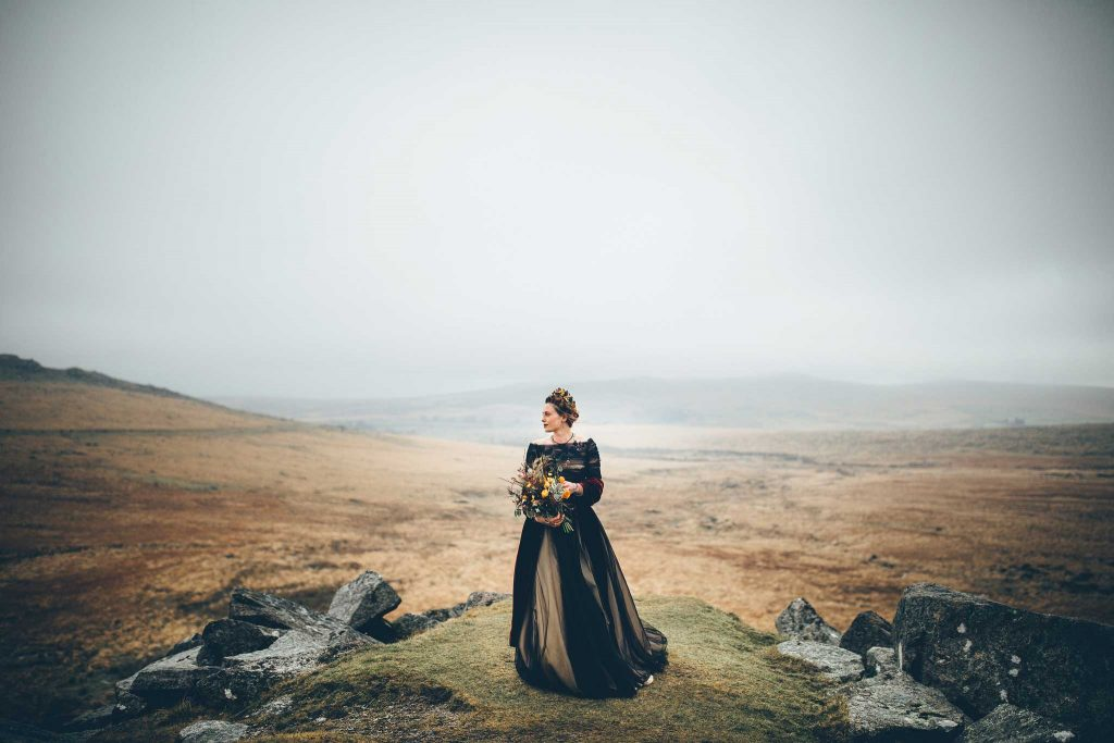 Dartmoor Wedding Wuthering Heights Shoot 1