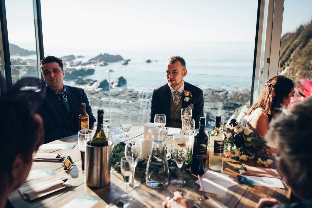 Tunnels Beaches Wedding Breakfast