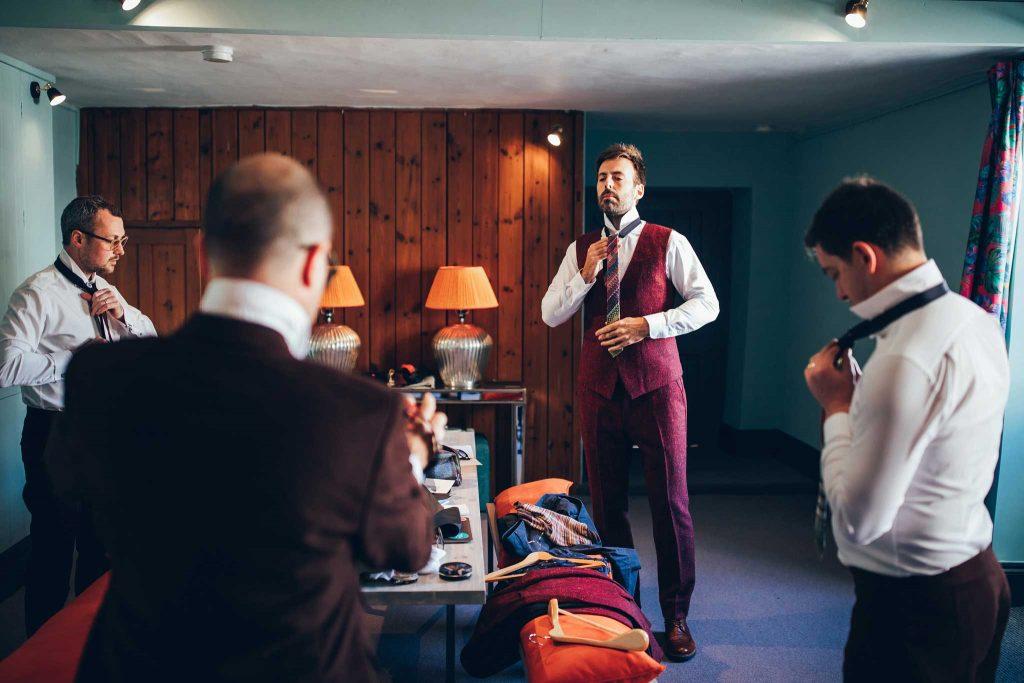 Boconnoc House groom dressing