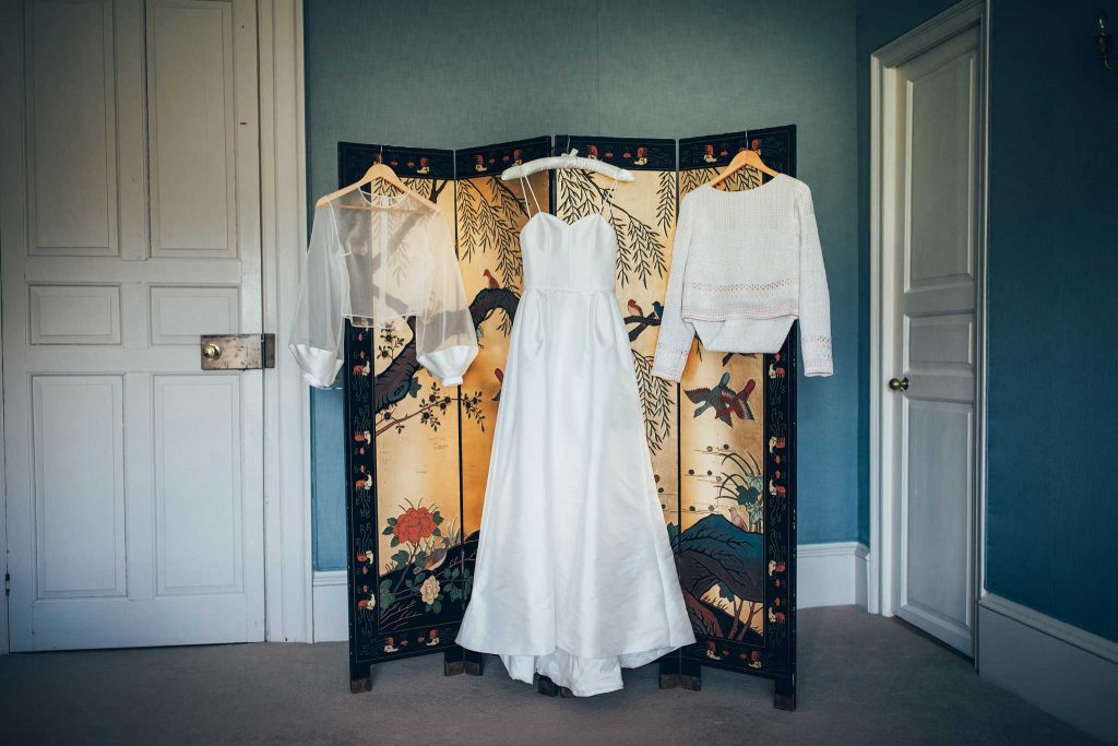 Boconnoc House wedding dress