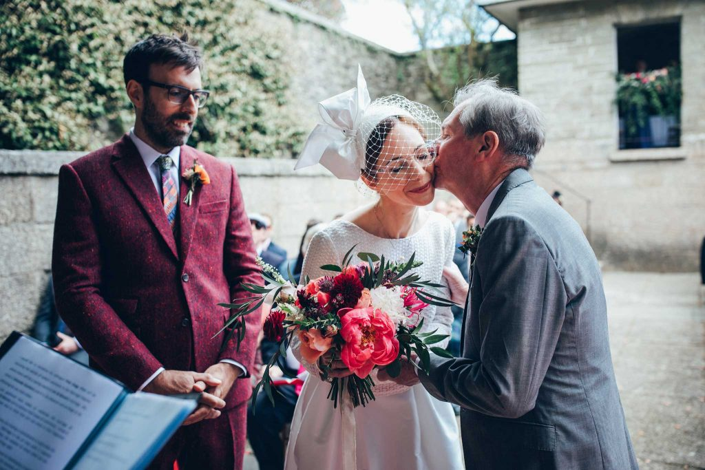 Boconnoc House wedding ceremony