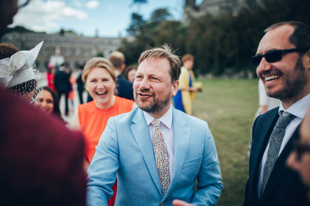 Boconnoc House wedding guest