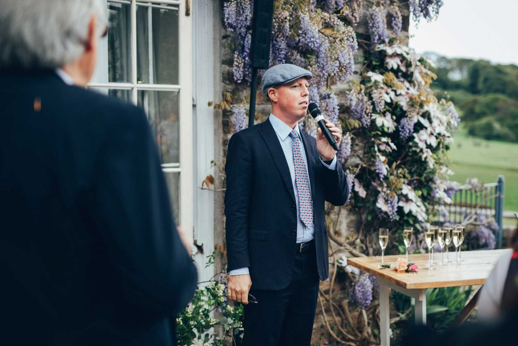 Boconnoc House speech