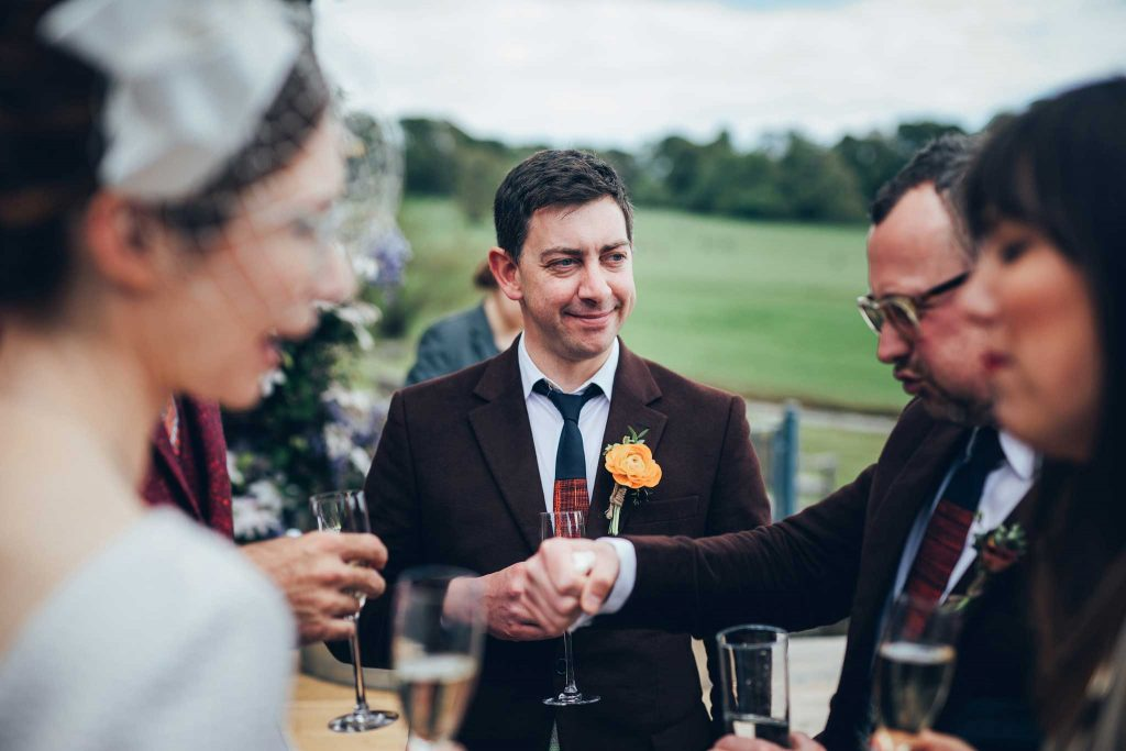 Boconnoc House wedding reception