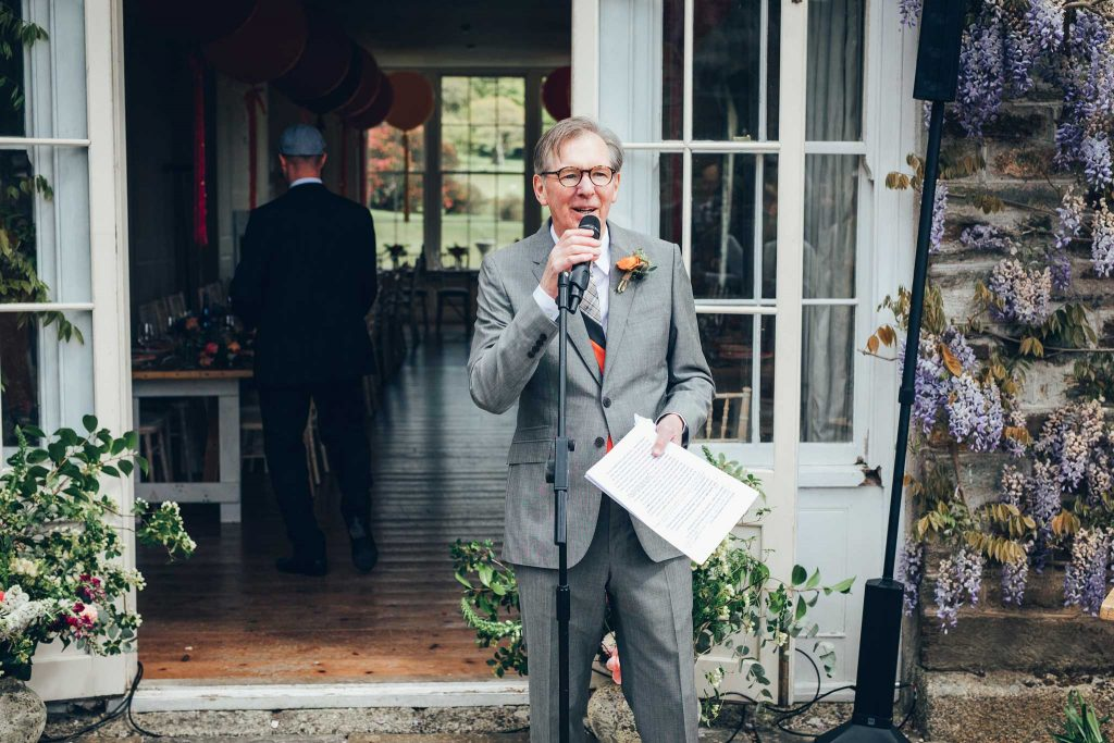 Boconnoc House father of the bride speech 1