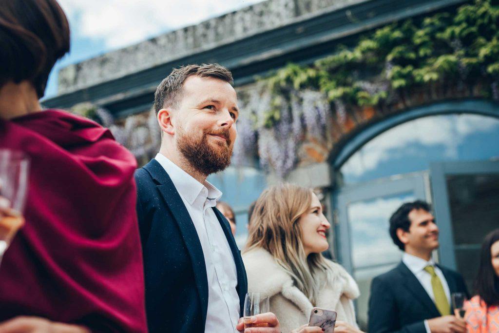 Boconnoc House wedding guest