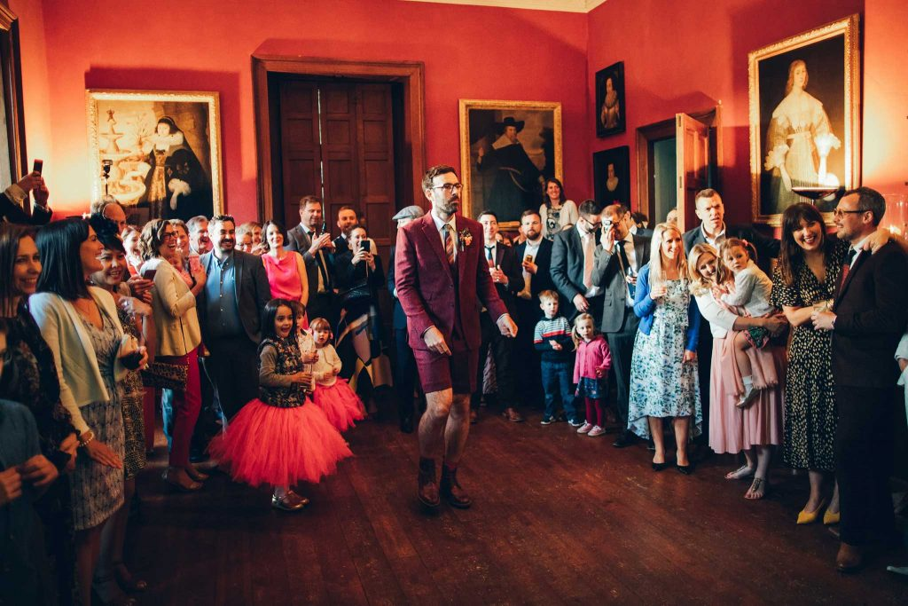 Boconnoc House first dance 3