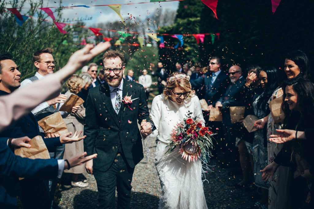 Kilminorth Cottages confetti