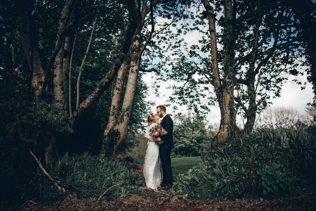 Love in the woods at Kilminorth Cottages