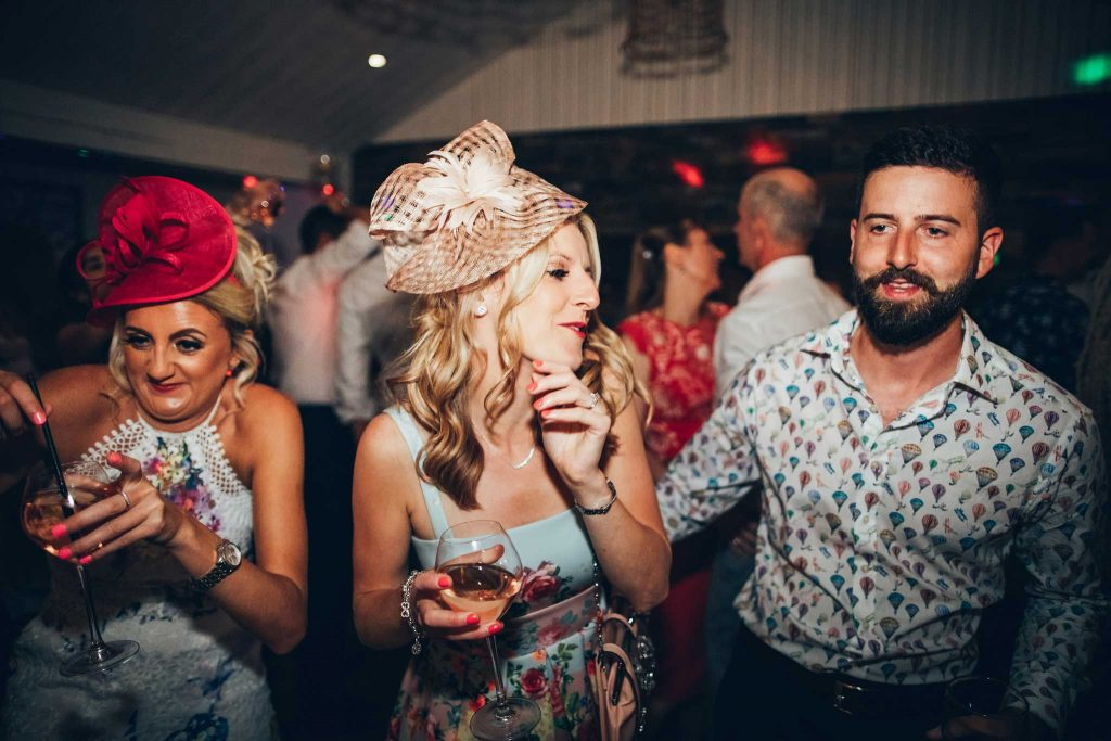 Wedding reception at Carbis Bay Hotel wedding