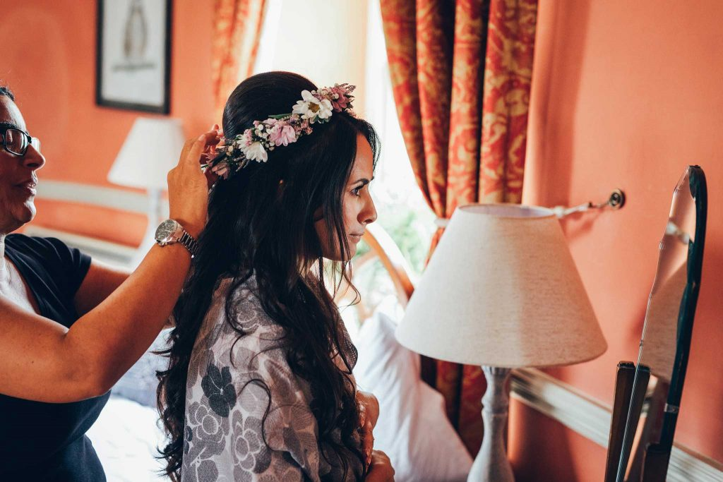 Haldon Belvedere hair and makeup