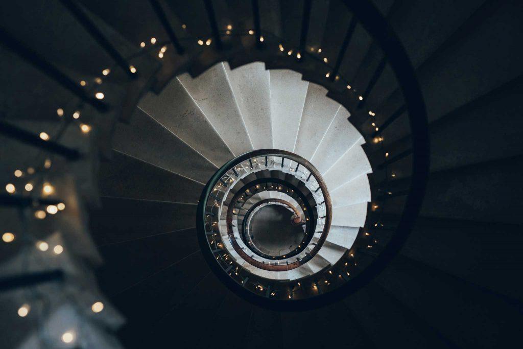 Haldon Belvedere stairs