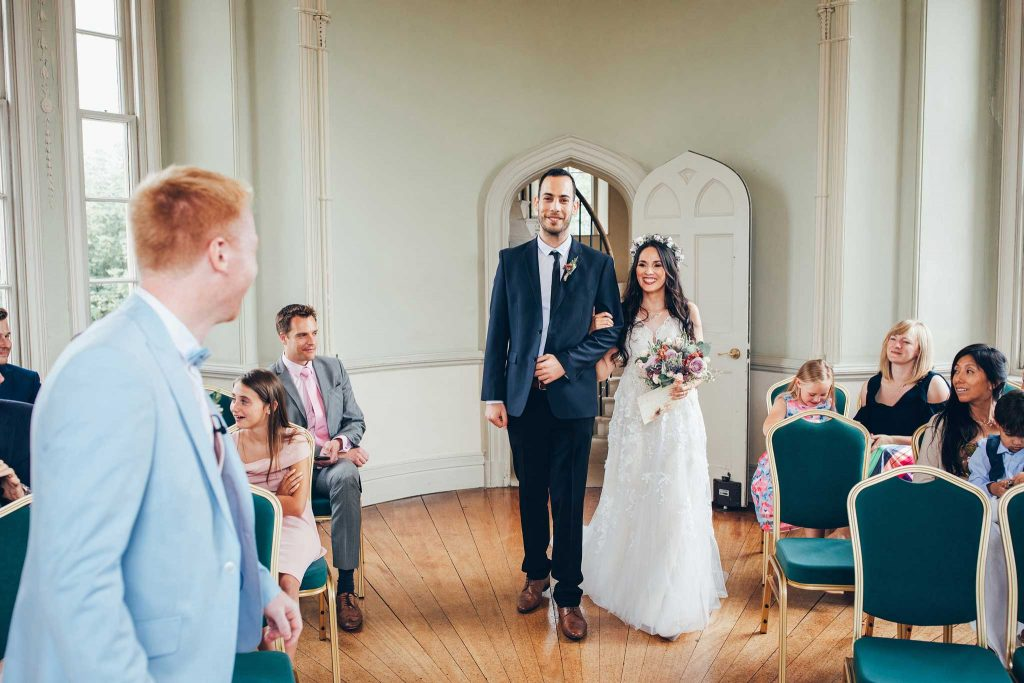 Haldon Belvedere wedding ceremony