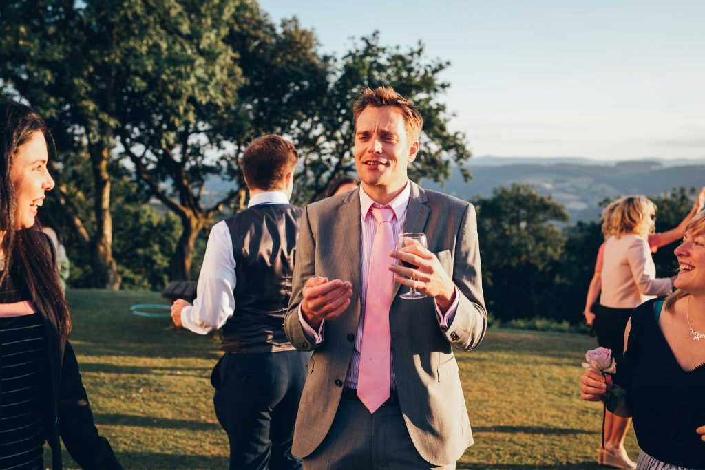Haldon Belvedere wedding reception