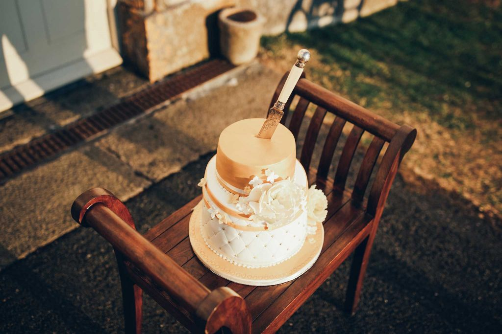 Haldon Belvedere wedding cake