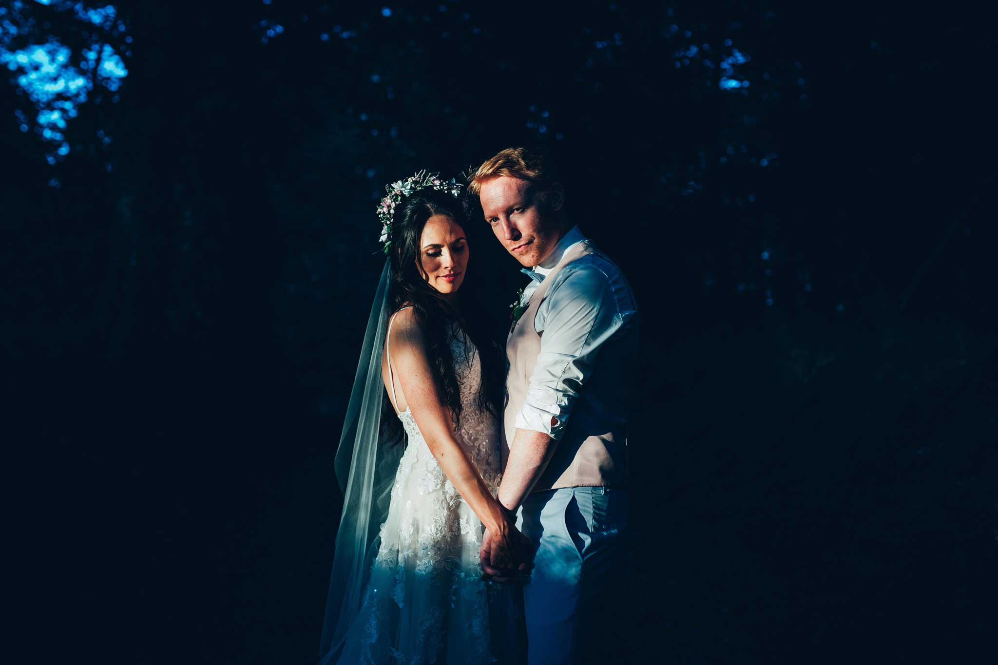 Haldon Belvedere wedding sunset