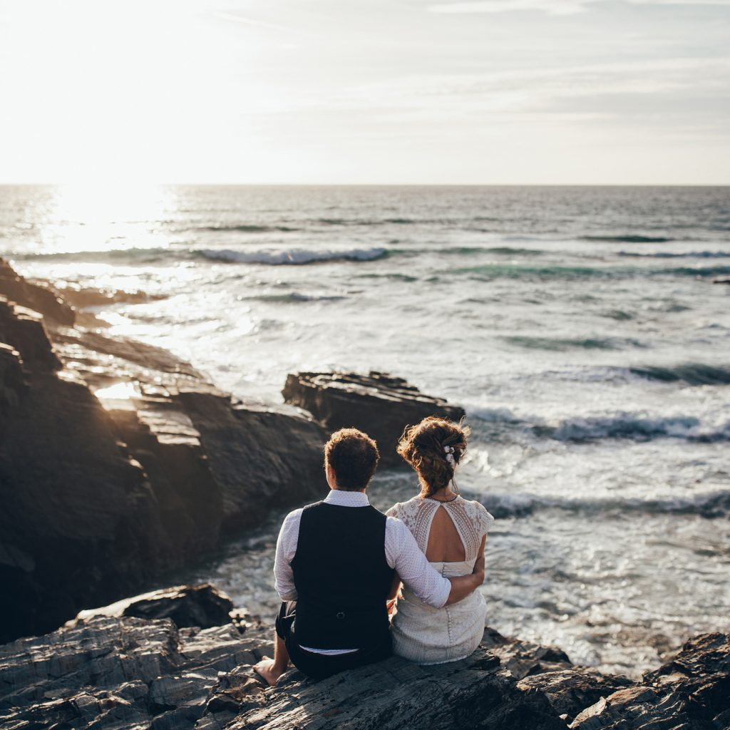 Elopements and Intimate Weddings in Cornwall.