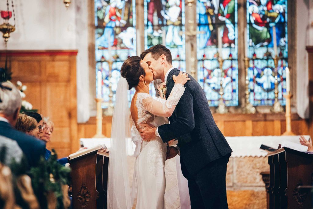 Marriage in St Agnes Church