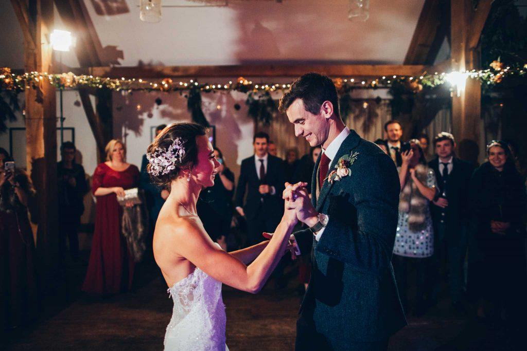 First Dance Nancarrow Farm Wedding