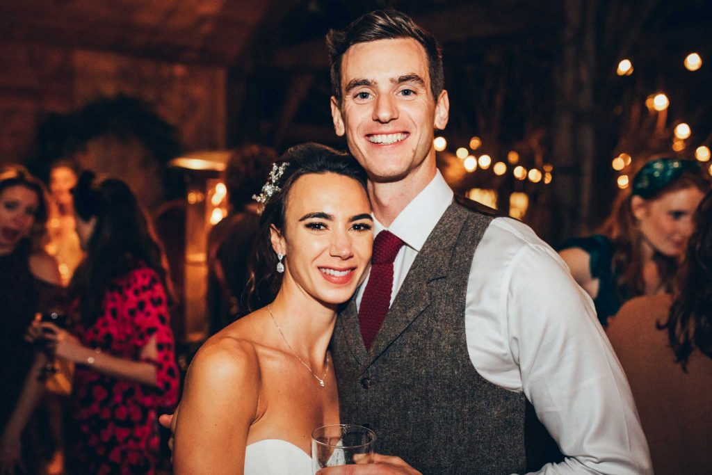 Bride and Groom Nancarrow Farm Wedding