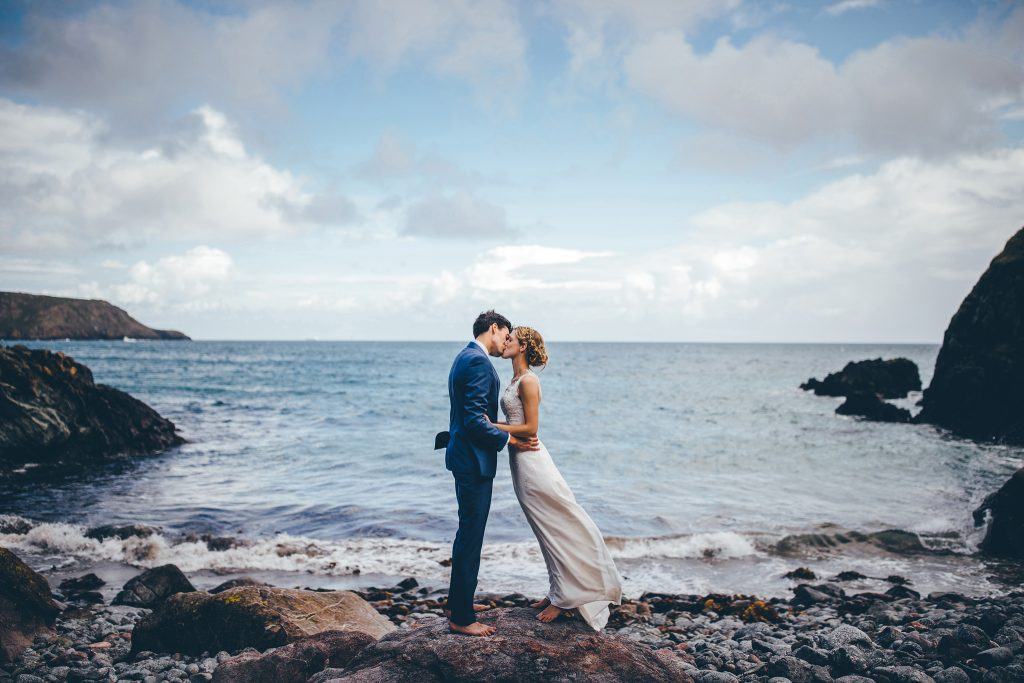 Cornwall Elopement Photography