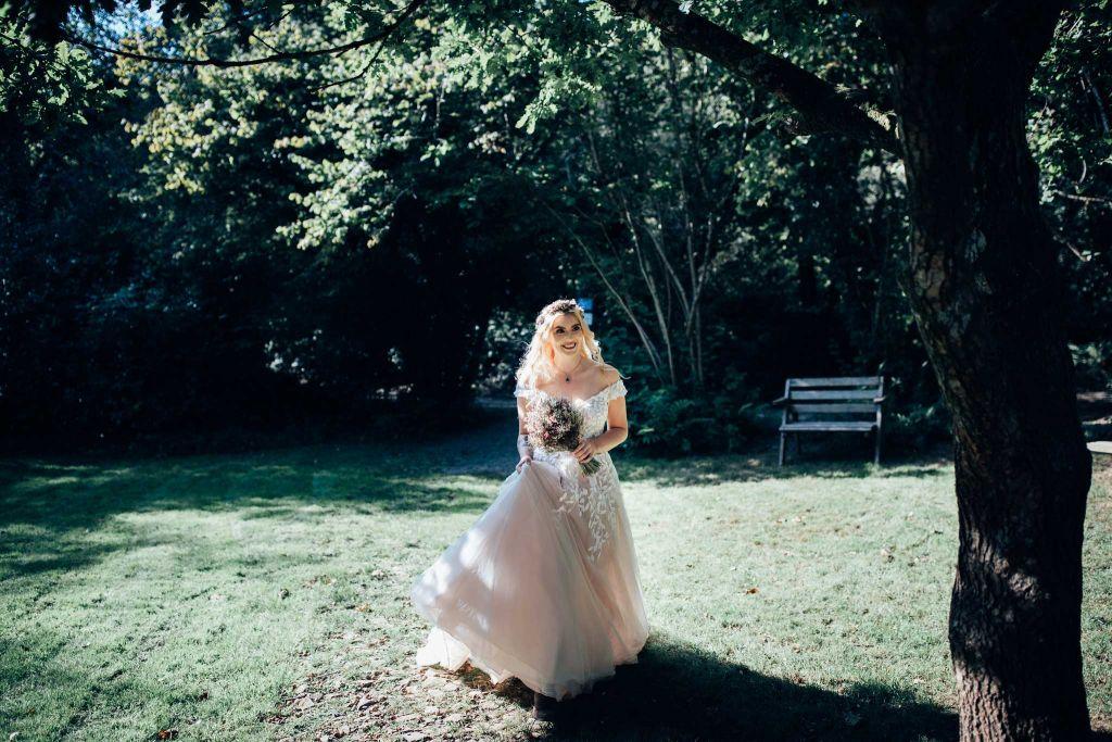 Cornish Tipi Elopement Wedding