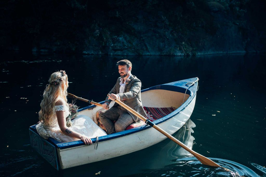 Cornish Tipi Intimate Wedding