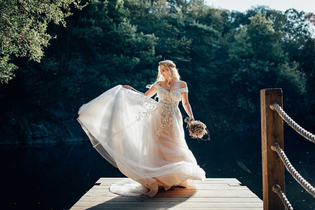 Cornish Tipi Bride